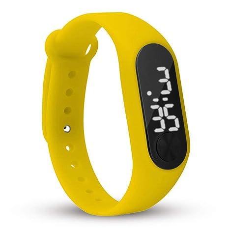 melysEU Smart Reloj de Pulsera Fitness Tracker Pulsera de Actividad Pulsera Inteligente Distancia a pie Correr Contador de calorías Digital LCD Sporting ...