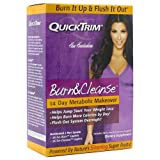 Quick Trim Quicktrim Burn and Cleanse 14 Day Metabolic Makeover Program (2 Each)
