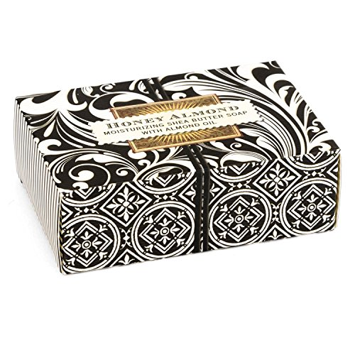 Michel Design Works 4.5oz Boxed Single Shea Butter Soap, Honey Almond
