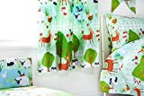 Ready Steady Bed Le Farm Design Children's 66' x 54' Curtain Pair with Tie Backs