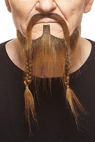 Mustaches Braided, Pirate Fake Beard, -