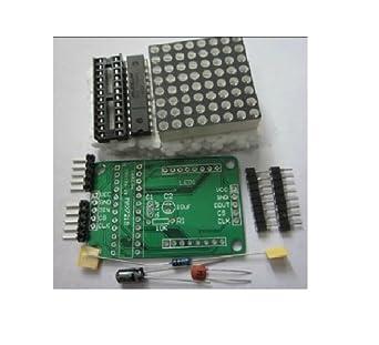 Phantom YoYo DIY MAX7219 Red LED Dot Matrix Display Module for Arduino -  Green