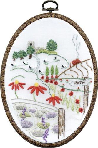 DMC Embroidery Kit - Church View