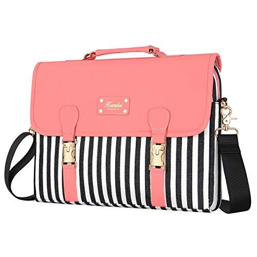 Kamlui Laptop Bag 15.6 Inch - for Women Laptop Case Shoulder Messenger MacBook Pro Bag ...