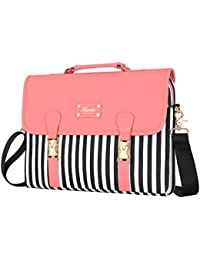Laptop Bag 15.6 Inch - for Women Computer Laptop Case Shoulder Messenger Macbook Pro Air