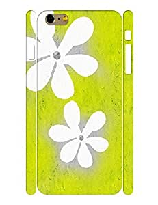 Fantastic Theme Smart Phone Case With Oil Painting Floral Image Slim Fit Case Cover for Iphone 6 Plus (5.5-inch)