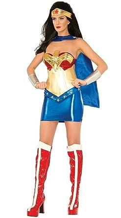 Donne Costume In Cinque Pezzi Supereroe Wonder Woman Taglia 36