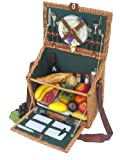 Sutherland Hampshire Commons Picnic Basket for 2