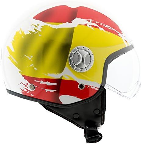 Amazon.es: Eglemtek Casco Moto, Scooter, ciclomotor, Moto Cross ...