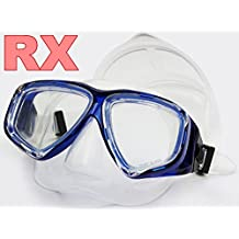 YEESAM SWIM® Diving Mask Prescription Nearsighted Myopia Myopic - Swim Scuba Dive Swimming Snorkeling Snorkel Mask RX Optical Corrective Lenses Customized