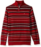 Product review for Calvin Klein Boys' Focal Stripe Half-Zip Sweater