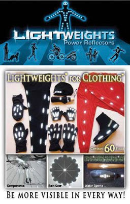 Lightweights Power Reflectors for Clothing (60-Piece)