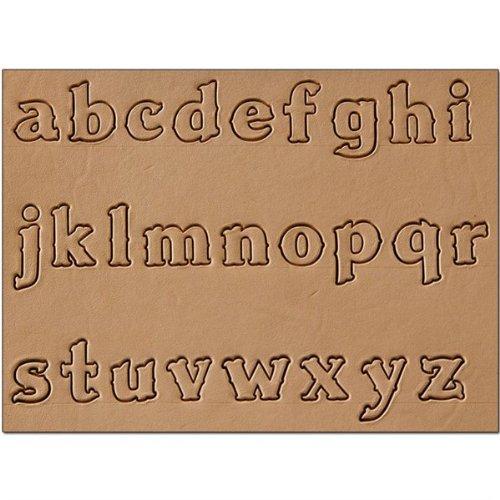 Craftool Alphabet Accent Set Hand Craft Fabric Stamp Stamping Tool 8155-00