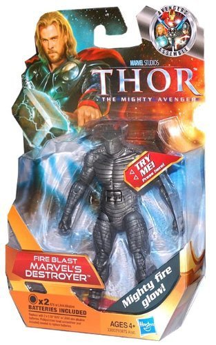 - Hasbro Thor: The Mighty Avenger Action Figure #11 Fireblast Marvel's Destroyer 3.75 Inch