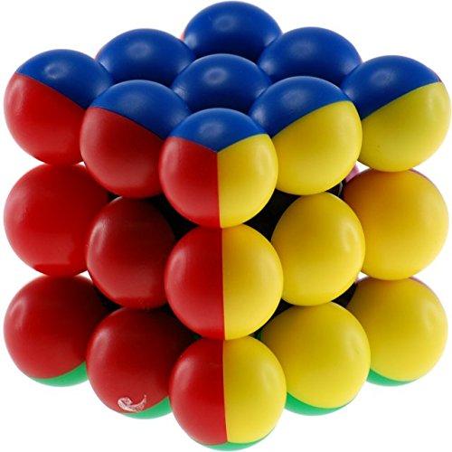 Meffert's Wellness Ball - 3x3x3 - black body (difficulty 8 of 10)