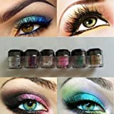 6 Colors Shimmer Makeup PRO GLITTER Eye Shadow - Best Reviews Guide