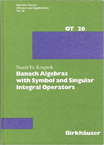 Banach Algebras with Symbol and Singular Integral Operators