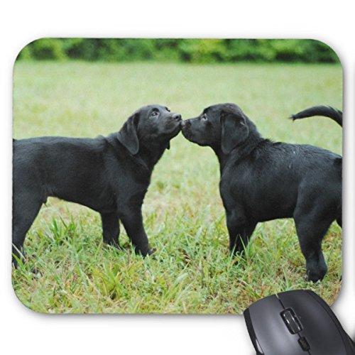 Julyou Mousepad Black Labrador Retriever Mouse - Black Retriever Mouse Labrador Pad