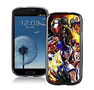 Unique And Antiskid Designed Cover Case For Samsung Galaxy S3 I9300 With marvel vs capcom Black Phone Case