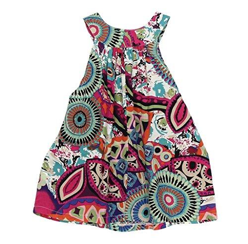 morecome Baby Flower Girls Princess Dress Party Kids Dress