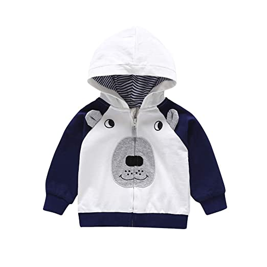 76e19d04b Amazon.com: Hooded Coat Clearance Iuhan Baby Dog Ears Tops Hoodie ...