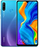 "Huawei P30 Lite (128GB, 4GB RAM) 6.15"" Display, AI Triple Camera, 32MP Selfie, Dual SIM GSM Factory Unlocked MAR-LX3A…"