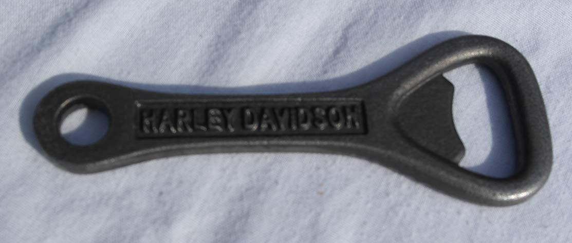 Cast Iron Harley Davidson hand held bottle opener