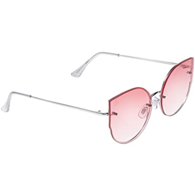 de4796234d Jeepers Peepers Ladies Cat Eye Pink One Size  Amazon.co.uk  Clothing