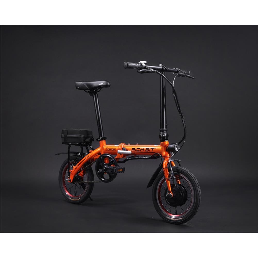 Rico Bit Top 014 - Bicicleta eléctrica plegable ebike bicicleta Ciclismo 250 W * 36 V 10 Ah LG recargable, ruedas de 14