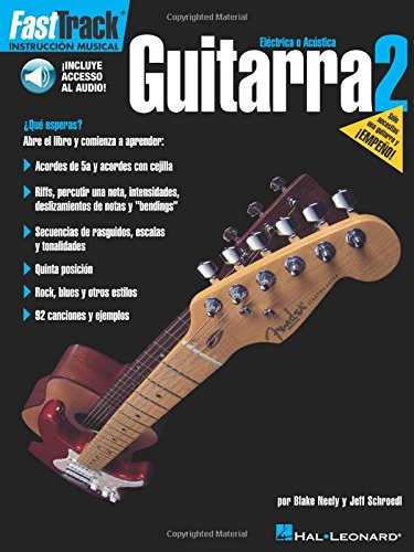 FastTrack Guitar Method - Spanish Edition - Book 2 ()