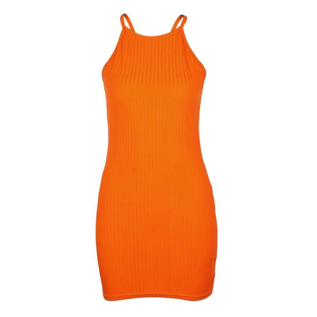 PCEPEIVK Women Sling Sleeveless Holiday Party Mini Dress Dresses