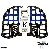 Honda TRX 450R (2004-2009) Propeg Nerf Bars Black Bars w/ Blue Net