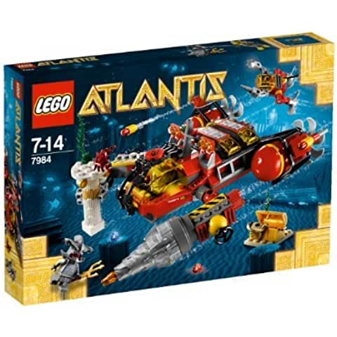 LEGO Atlantis Deep Sea Raider 7984 [parallel import goods] (japan import)