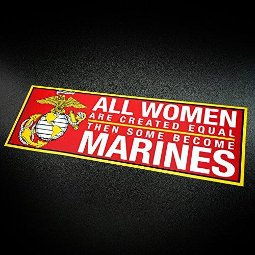 Women Marines - Sticker