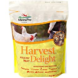 Manna Pro Harvest Delight Poultry Treat, 2.5 lb