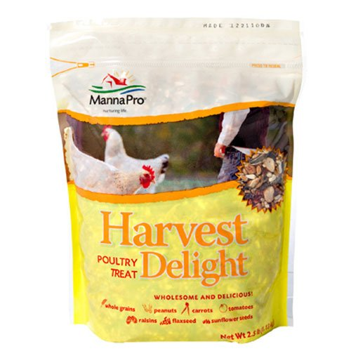 Manna Pro Harvest Delight Poultry Treat, 2.5 lb (Chicken Treats)