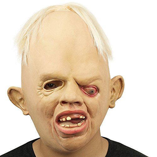 XIAO MO GU Scarey Deluxe Novelty Halloween Costume Party Latex Animal Head Mask (Novelty Masks)
