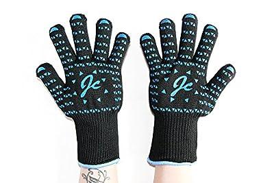 JC Design Pro Grilling Cooking Gloves-100% Kevlar Certified 932°F Heat Resistance from Shanghai chun lie trade co., LTD