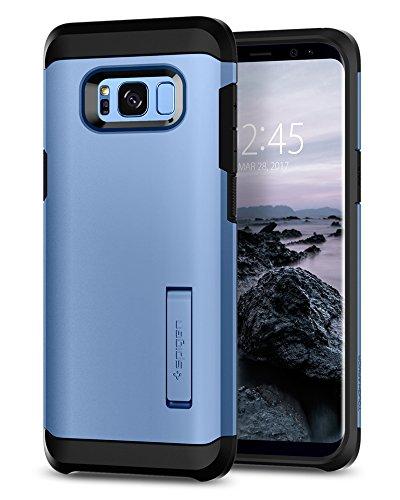 Spigen Tough Armor Designed for Samsung Galaxy S8 Case (2017) - Coral Blue (Best S8 Phone Case)