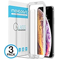 Maxboost Screen Protector for Apple iPhone XS & iPhone X...