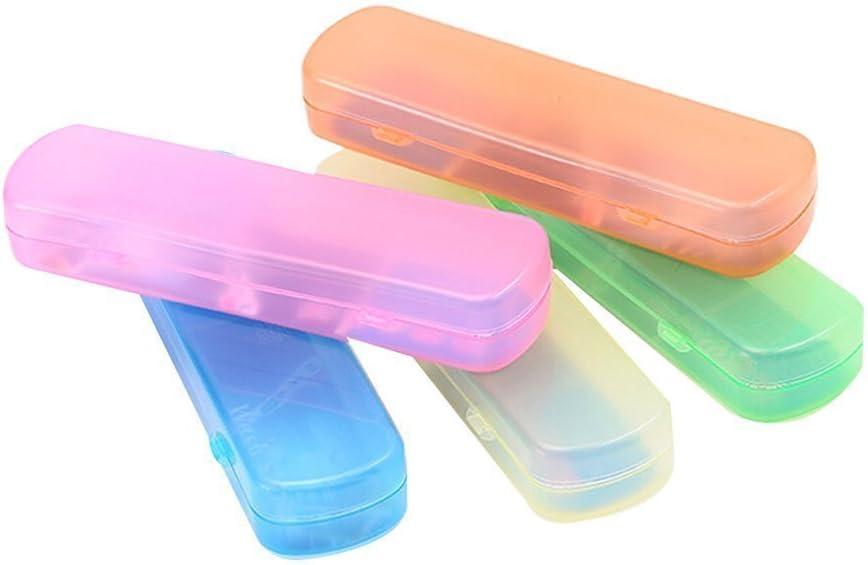 Portable Toothbrush Holder Box Travel Camping Toothbrush Storage Organizer Case*