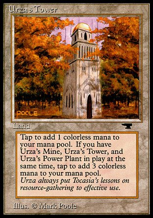Magic: the Gathering - Urza's Tower (Forest) - Antiquities