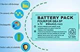 OSTENT 850mAh Rechargeable Lithium-ion Battery
