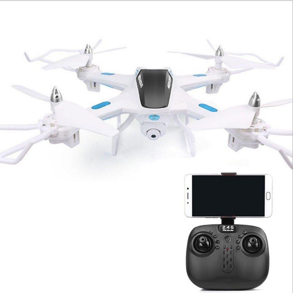 KYOKIM Remote and Mobile Phone App Control Drone Synchronous Transmission Fotografía Aérea, 34  34  9cm Tiempo De Vuelo: 9 Minutos Y Distancia De Control Remoto: 200 Metros,White