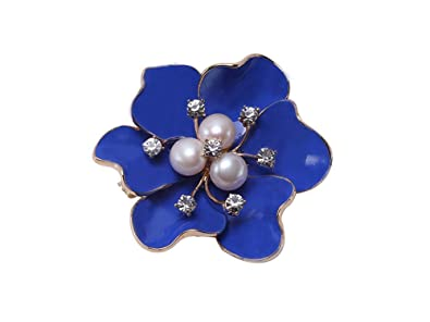 f8a82053ade JYX Flower White Freshwater Pearl Brooch Pin Christmas Bouquet Bridal  Wedding Birthday Gifts for Mum / Her / Ladies: Amazon.co.uk: Jewellery