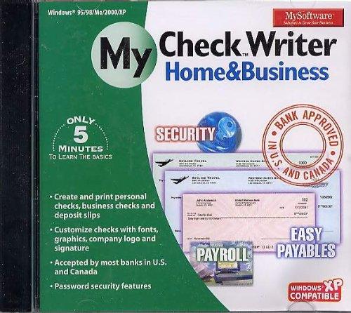 Mysoftware MYSOFT-CHECK My Software - Checkwriter Home