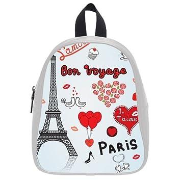 Nueva llegada -- excelente de la torre Eiffel con niños bolso de escuela Mochila para niños: Amazon.es: Electrónica