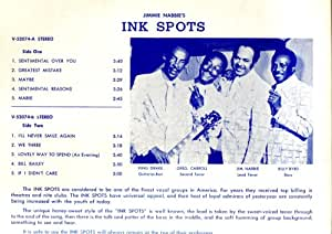 "An Evening With Jim Nabbies ""Ink Spots"""