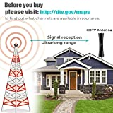 TV Antenna,Newest Indoor Outdoor Antenna Amplified