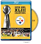 Cover Image for 'NFL Super Bowl XLIII: Pittsburgh Steelers Champions'